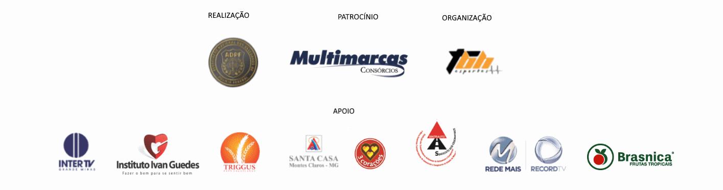 Corrida da Polícia Federal Contra a Corrupção 2019 - Etapa MOC - Logo