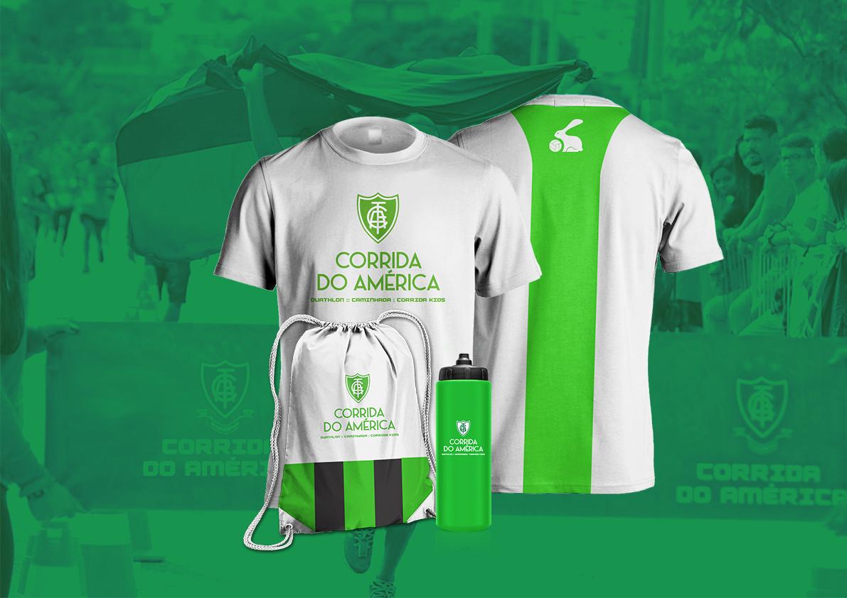 Corrida do América 2018 - Kit Atleta