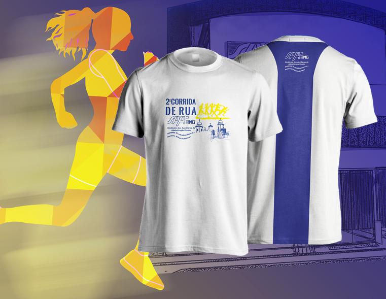 2ª Corrida SAAEMG - Camiseta