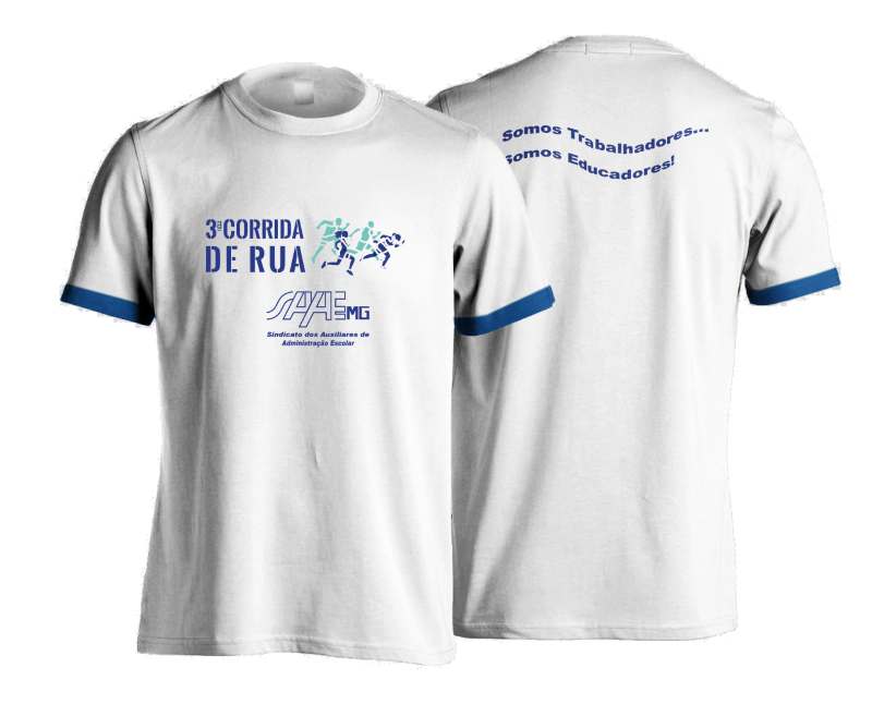 3ª Corrida SAAEMG - Camiseta