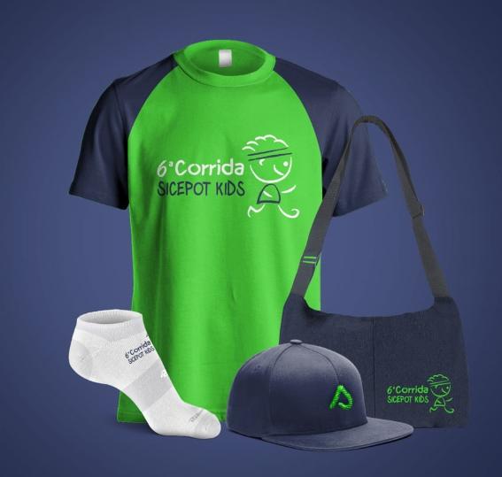 8ª Corrida e Caminhada Sicepot - Kit Kids