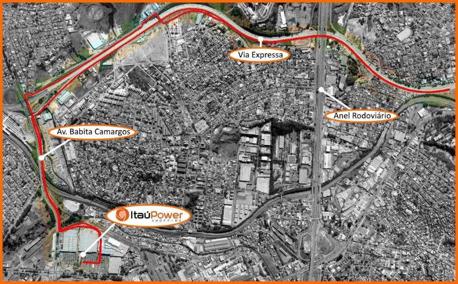 4a Corrida ItaúPower - Percurso 10k (2)