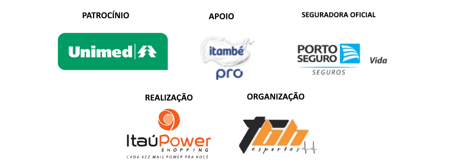5a Corrida ItaúPower Shopping - Barra Logos