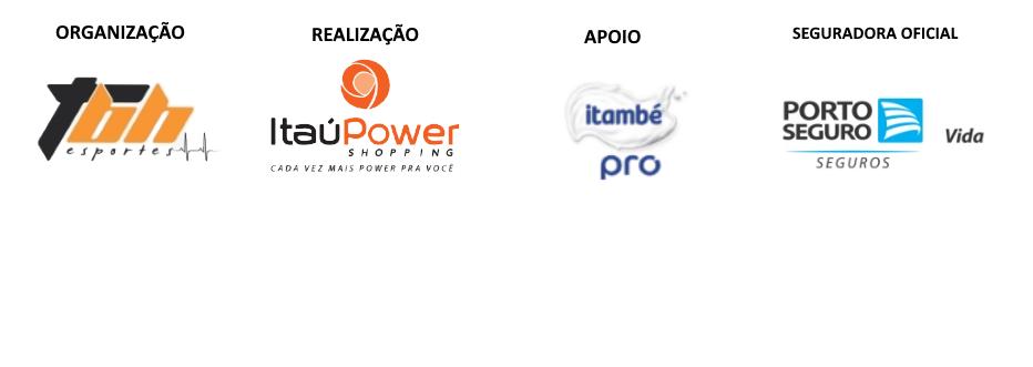 5a Corrida ItaúPower Shopping - Barra Logos