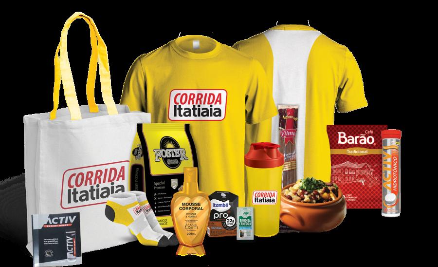 Corrida Itatiaia 2018 - Kit