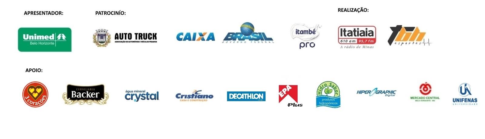 Corrida da Itatiaia - Barra de Logos