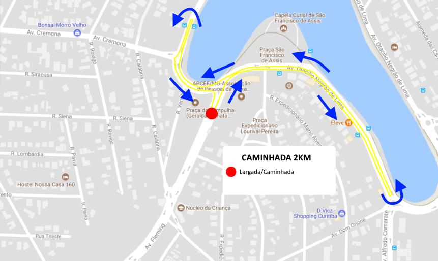 Corrida da Itatiaia - Caminhada 2km