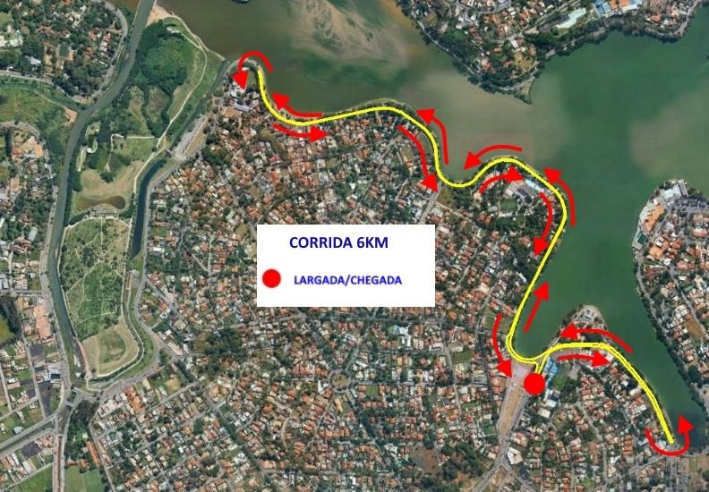56Cruzeiro - Percurso 6km