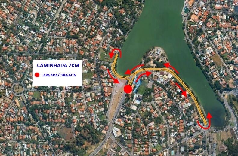 6ª Corrida do Cruzeiro - Percurso 2km