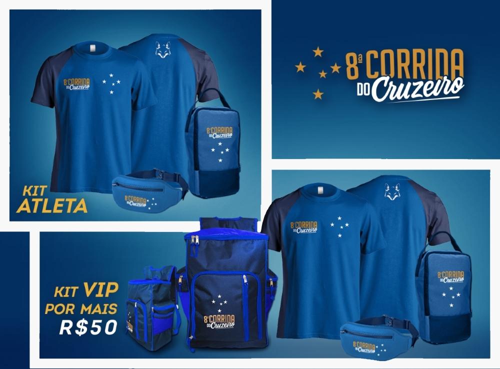 8ª Corrida do Cruzeiro - Kit Atleta Completo