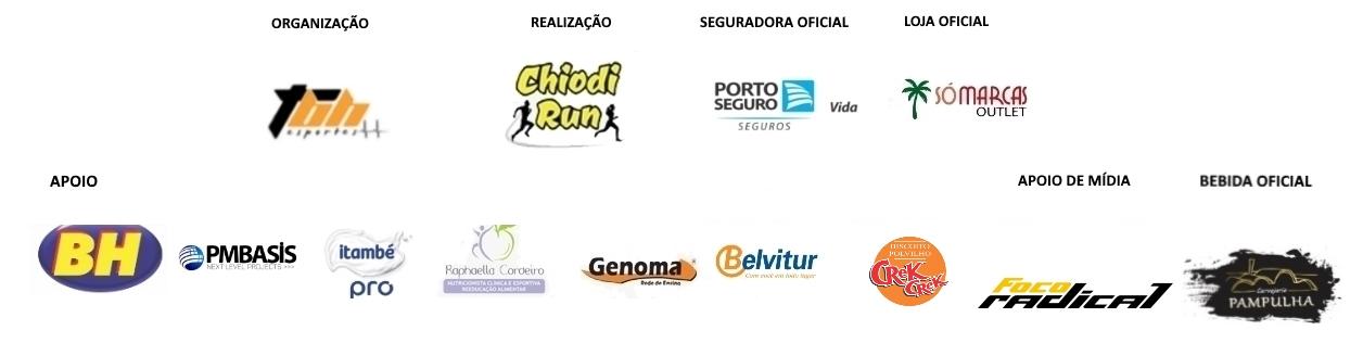 Corrida Chiodi Run - Barra Logo