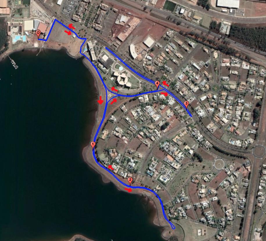 MTC 2018 - Mapa Corrida 5km