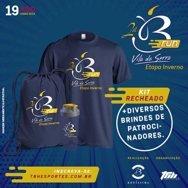 Boníssima Run 2018 - Etapa Inverno - Divulgação 2