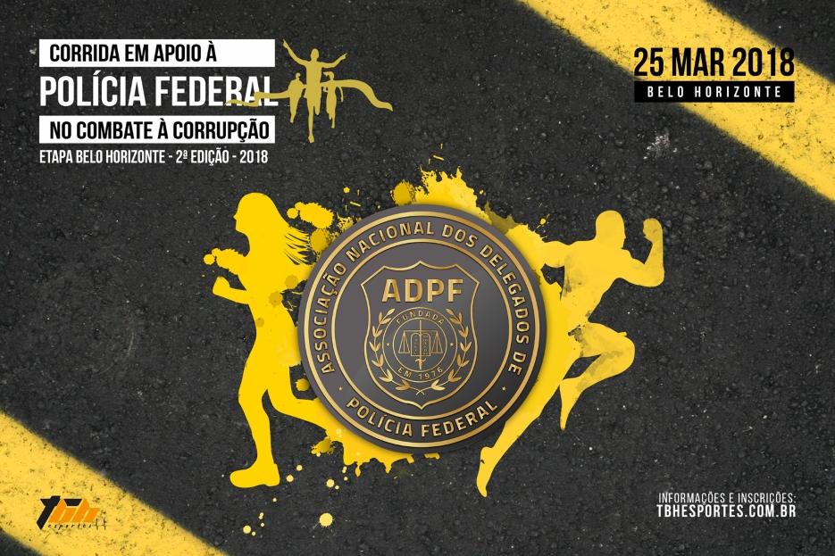 Corrida da Polícia Federal Contra a Corrupção 2018 - ID