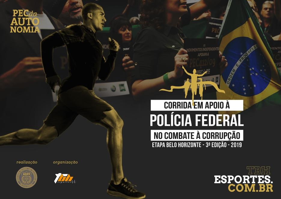Corrida da Polícia Federal Contra a Corrupção 2019 - ID