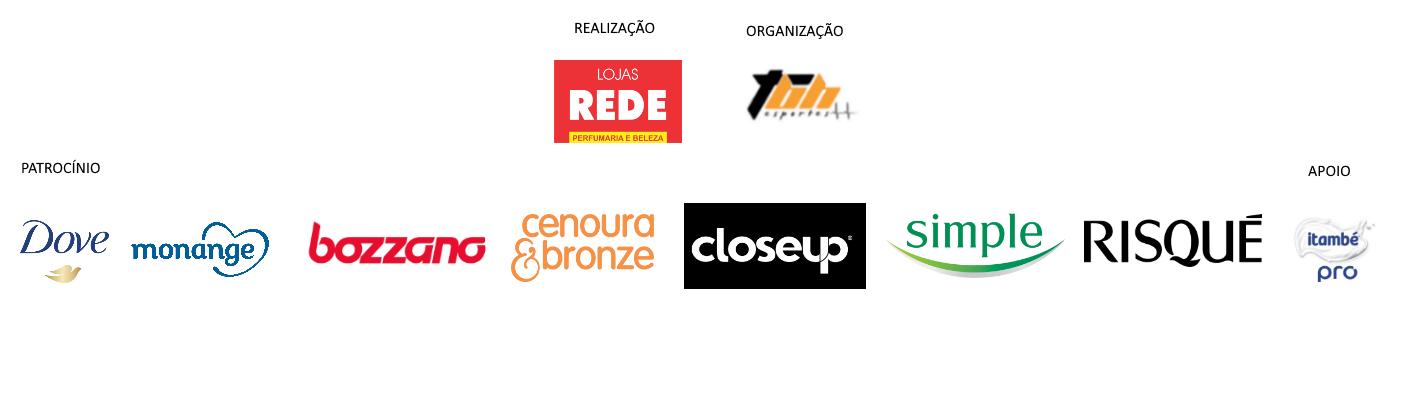 Corrida da Beleza Lojas Rede - Barra Logos