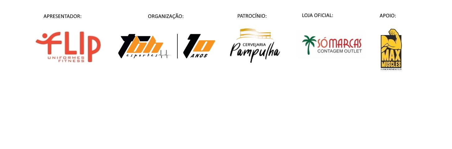 Corrida Flip das Equipes - Barra Logo