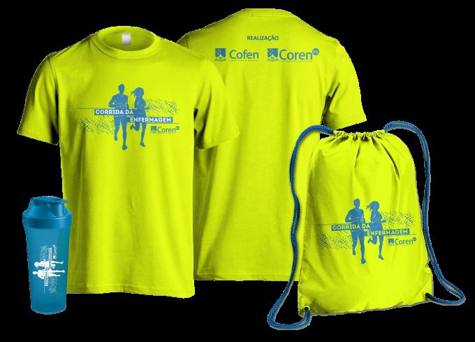 Corrida da Enfermagem - Coren ID - Kit Atleta