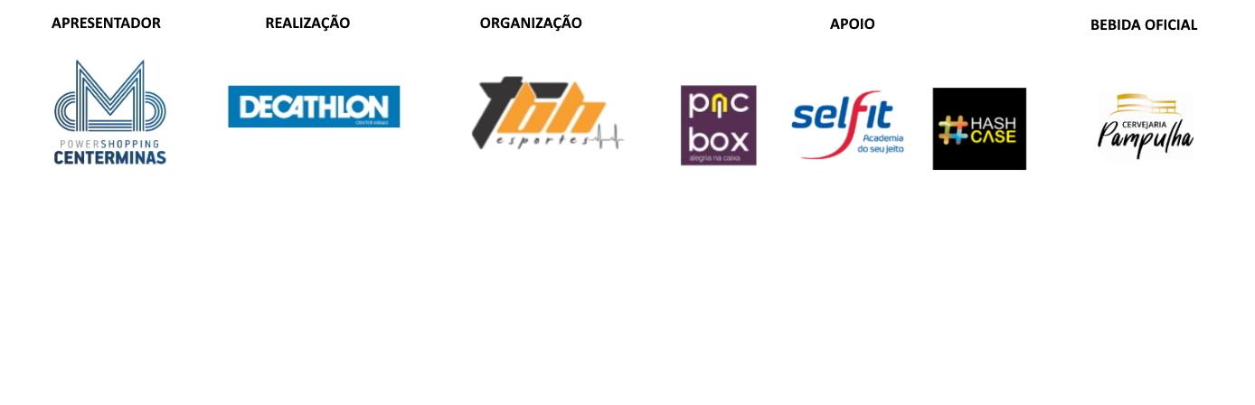 Treinão Decathlon - Barra Logo
