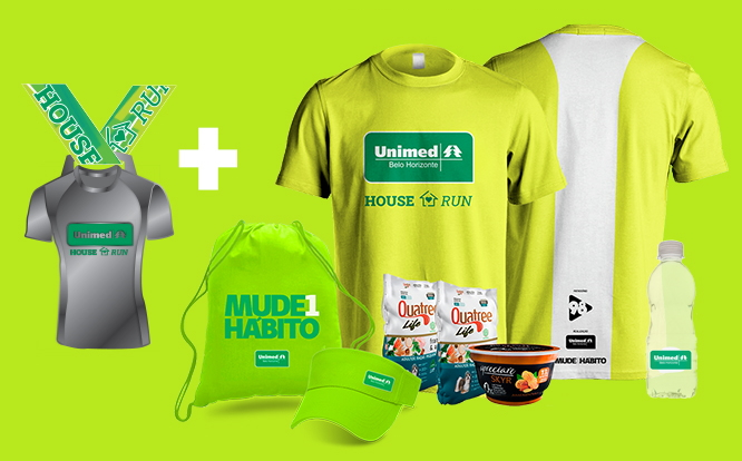 Unimed House Run - Kit Atleta