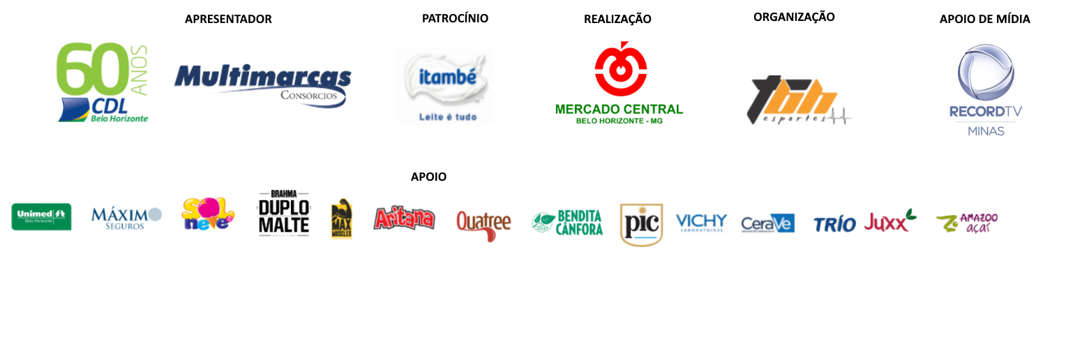 Corrida e Caminhada Mercado Central Live Run - Barra Logo