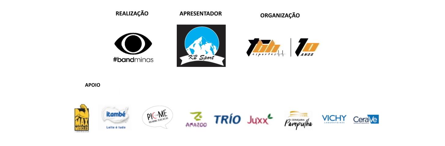 Corrida Band de Natal - Live Run - Barra de Logo