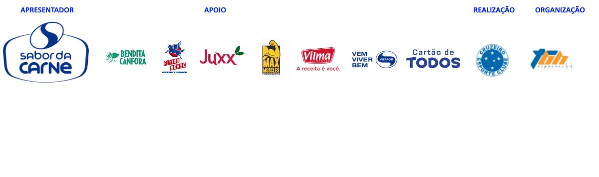 Corrida do Cruzeiro Online - Edição de Palestra a Cruzeiro - Barra de Logo