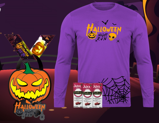 Halloween Night Run Online Edition - Kit